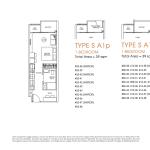 Poiz Floor Plan 1 Bedroom Suites A1