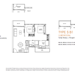 Poiz Floor Plans 2 Bedroom Suites B1