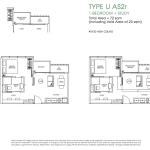 Poiz Residence Floor Plan 1 Study Urban AS2