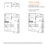 Poiz Residence Floor Plans 1 Study Suites AS2