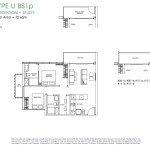 Poiz Residences Floor Plan 2 Study Urban BS1