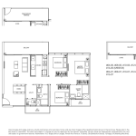Poiz Residences Floor Plan 3 Bedroom Premium Habitat C3