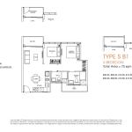 Poiz Floor Plans 2 Bedroom Suites B1